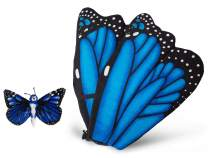 Wildlife Tree Plush Blue Morpho Butterfly Wings with Baby Butterfly Bundle