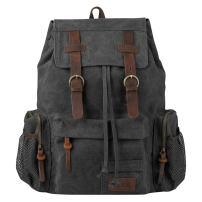 Large Canvas Backpack, PKUVDSL Vintage Rucksack Women Men for Travel School