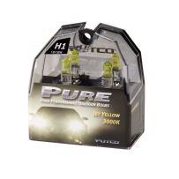 Putco 230100JY Pure Halogen Headlight Bulb - Jet Yellow - H1 (Pair)