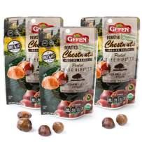 Gefen Organic Whole Roasted & Peeled Chestnuts, 3oz (3 Pack)