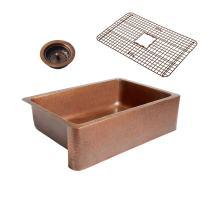 Sinkology K1A-1004-WG-B Copper Kitchen Sink