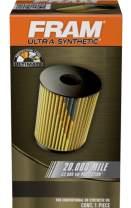 FRAM Ultra Synthetic XG8481, 20K Mile Change Interval Oil Filter for Chrysler, Dodge, Freightliner and Mercedes-Benz Vehicles