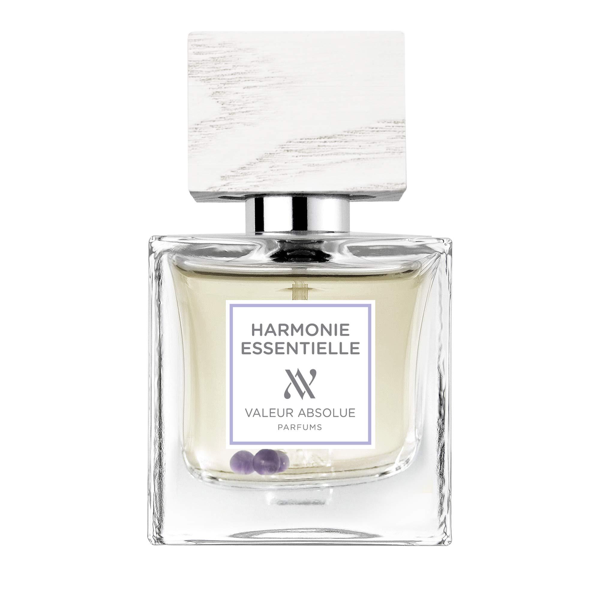 Valeur Absolue Organic Harmonie Essentielle Perfume   Encourages Mindfulness   Citrusy & Woody   Certified Organic Fragrance   1.7 Fluid Ounces