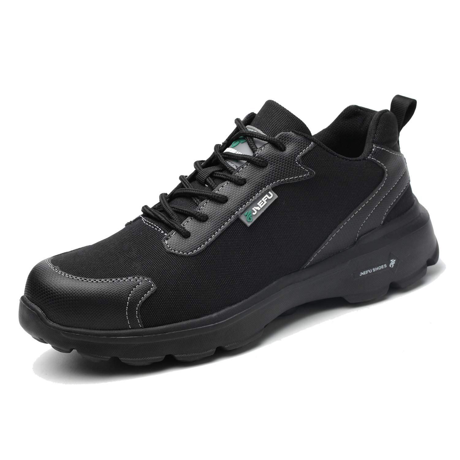 Steel Toe Shoes Men, Breathable Lightweight Industrial & Constructions Work Safety Shoes, Puncture Proof Slip Resistant Sneakers for Women