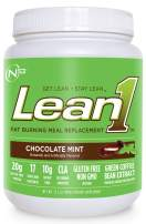 Nutrition 53 Lean 1 Meal Replacement Powder for Weight Loss, Fat Burner, Appetite Control Regular Tub 2500cc Chocolate Mint Powder (15 Servings)