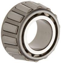 "Timken 2687 Tapered Roller Bearing, Single Cone, Standard Tolerance, Straight Bore, Steel, Inch, 1.0000"" ID, 1.0010"" Width"