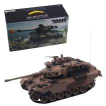 1:18 Remote Control Military Battle for Shooting BB Bullets Tank (M60-YELLOW)
