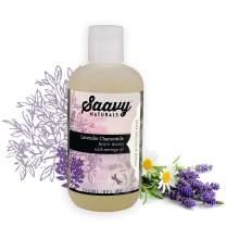 Lavender Chamomile Body Wash | Gluten-Free, Vegan Shower Gel | Natural and Organic Body Soap | 8 oz