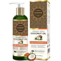 Morpheme Pure Organic Virgin Coconut Oil (ColdPressed) For Hair, Body, Skin Care, Massage 200 ml