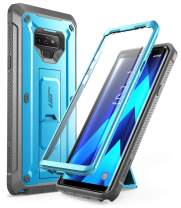 SUPCASE Unicorn Beetle PRO Series Phone Case for Samsung Galaxy Note 9, Full-Body Rugged Holster Case with Built-in Screen Protector for Samsung Galaxy Note 9 2018 (Blue)