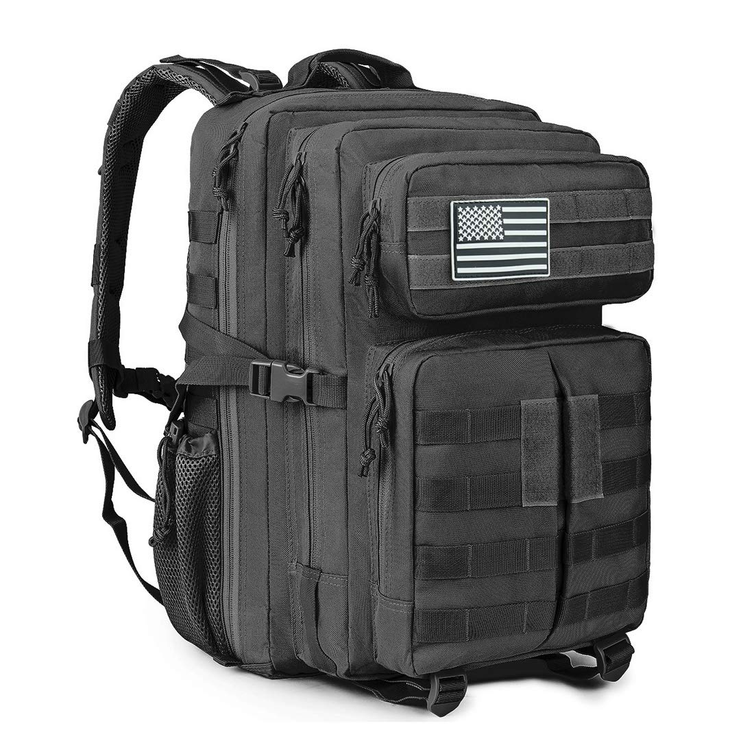 MEWAY 42L Military Tactical Backpack Large Assault Pack Molle Outdoors Daypack