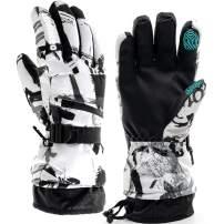 Ski Gloves,-30℉ Snow Winter Gloves Warm Touchscreen Gloves Waterproof Outdoor Motorcycle Gloves
