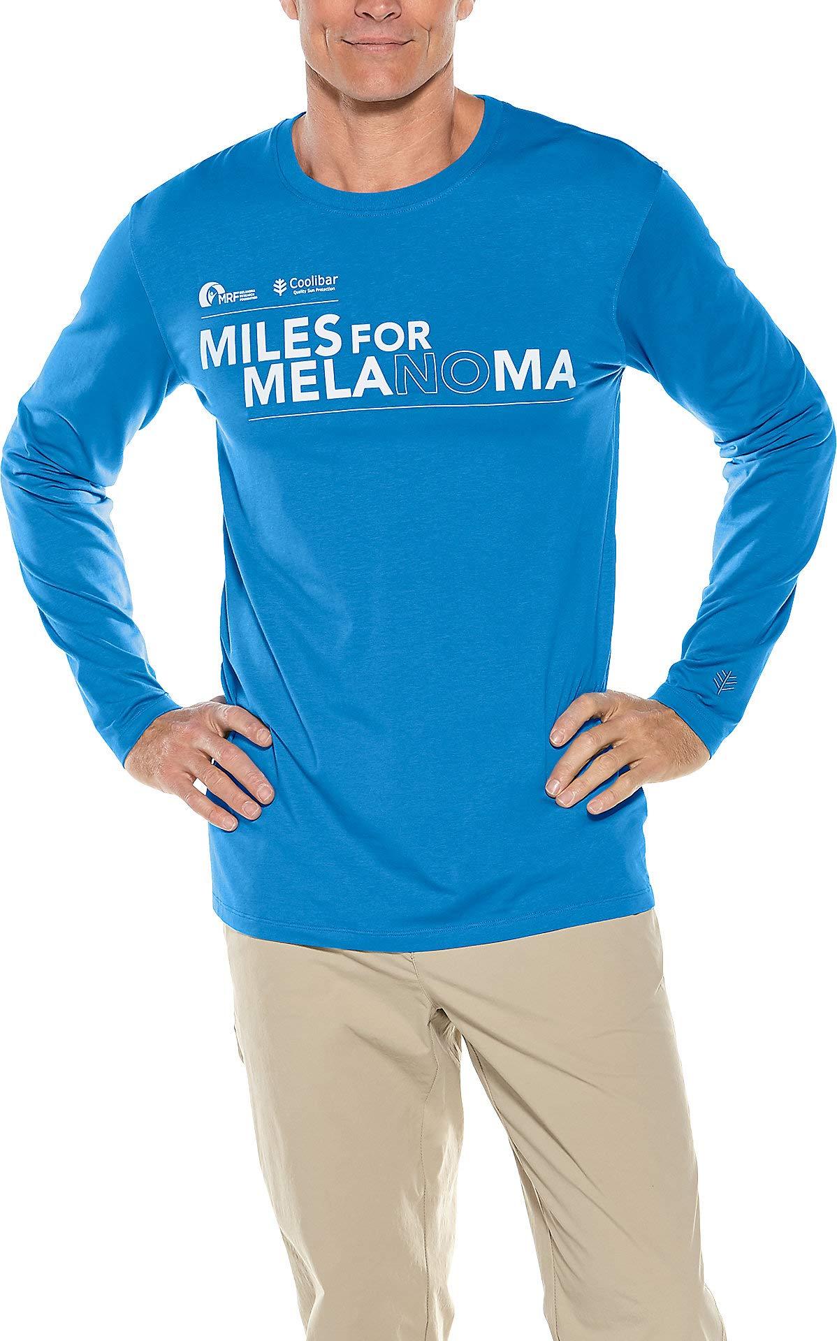 Coolibar UPF 50+ 2019 Miles for Melanoma Unisex T-Shirt - Sun Protective
