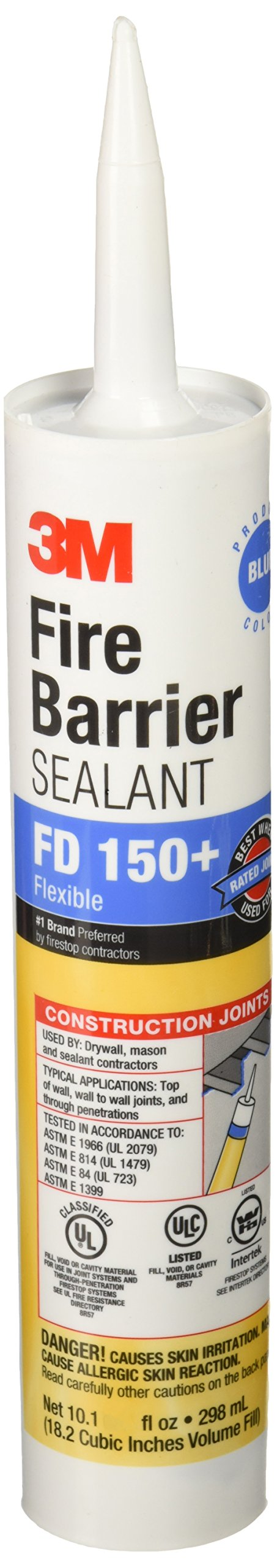 3M Fire Barrier Sealant FD 150+, Blue, 10.1 fl oz Cartridge