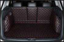 FHJBP Custom Fit Trunk Cargo Liner for BMW X1 2012-2015 -Black w/Red Stitching