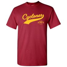 NCAA Baseball Jersey Script, Team Color T Shirt, College, University