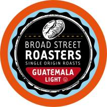 Broad Street Roasters Single Origin Coffee, Guatemala, Compatible with 2.0 K-Cup Brewers, 40 Count