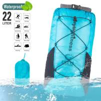 IDAND Waterproof Dry Bag Backpack Floating Dry Bag 22L Water Resistant Lightweight Backpack for Boating, Kayaking, Fishing, Swimming and Camping