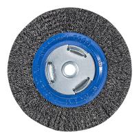 """Mercer Industries 183010 Crimped Wire Wheel, 6"""" x 3/4"""" x 2"""" (1/2"""", 5/8""""), For Bench/Pedestal Grinders"""