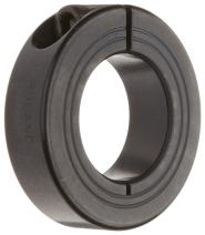 Ruland MCL-25-F One-Piece Clamping Shaft Collar, Black Oxide Steel, Metric, 25mm Bore, 45mm OD, 15mm Width (Pack of 2)