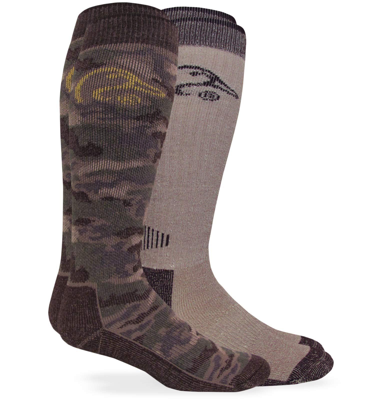 Ducks Unlimited All Seaon Tall Merino Wool Boot Socks Sock
