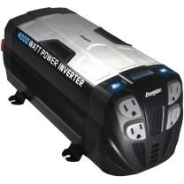 ENERGIZER Power Inverter converts 12V DC from car's battery to 120 Volt AC with 2 USB ports 2.1A shared compatible with iPad iPhone (4000 Watts)