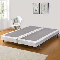 Greaton Fully Assembled Low Profile Split Wood Traditional Boxspring/Foundation, Full XL Size