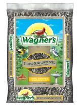 Wagner's 62028 Striped Sunflower Seed Wild Bird Food, 5-Pound Bag