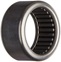 """Koyo B-96 Needle Roller Bearing, Full Complement Drawn Cup, Open, Inch, 9/16"""" ID, 3/4"""" OD, 3/8"""" Width, 5000rpm Maximum Rotational Speed"""