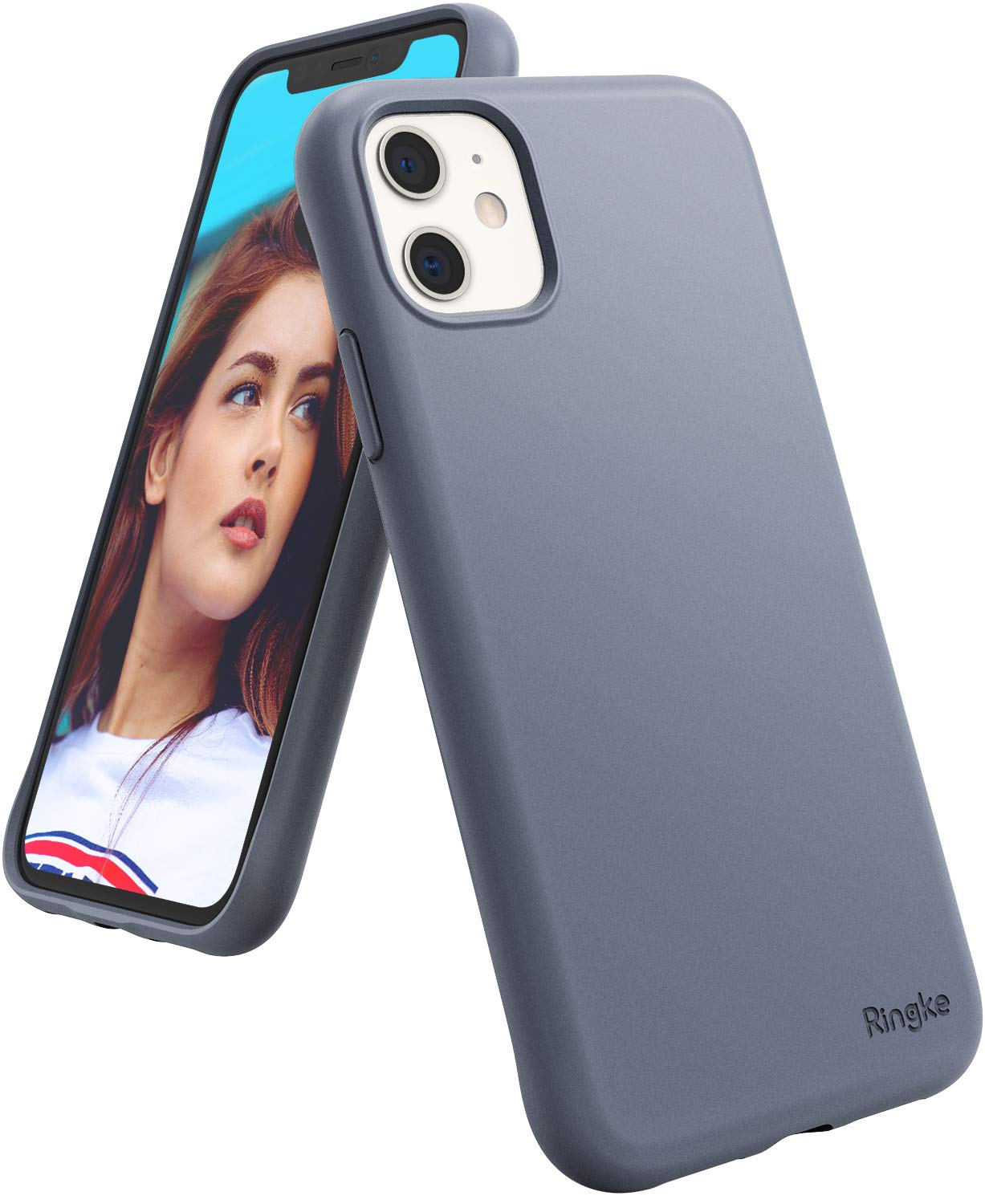 Ringke Air-S Designed for iPhone 11 Case (2019) - Lavender Gray