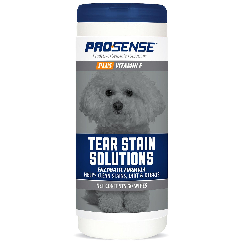 Pro-Sense P-87083 Plus 50 Count Plus Tear Stain Solutions Wipes