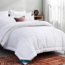 Bedsure Duvet Insert Twin XL Comforter White - All Season Quilted Down Alternative Comforter for Twin XL Bed, 300GSM Mashine Washable Microfiber Bedding Comforter with Corner Tabs