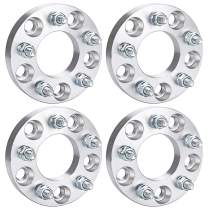 "PUENGSI 5 Lug Wheel Spacer 1"" 4X 5x4.75 to 5x4.5 4PCS Wheel Spacers Adapters Fit for Chevy El Camino S10 Blazer GMC Sonoma Pontiac Firebird Phoenix with 12x1.5 Studs"