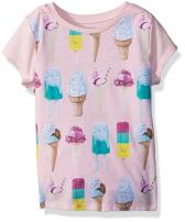 Gymboree Girls' Little Short Sleeve Printed Knit Top