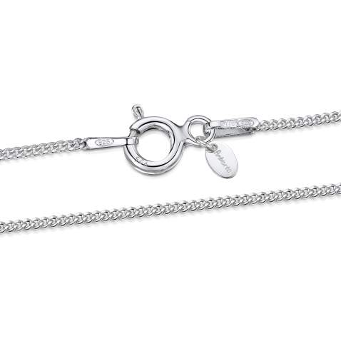 """18/"""" 20/"""" SILVER PLATED TRACE CHAIN Necklace 16/"""" 24/"""" inch inches 2.2mm links"""
