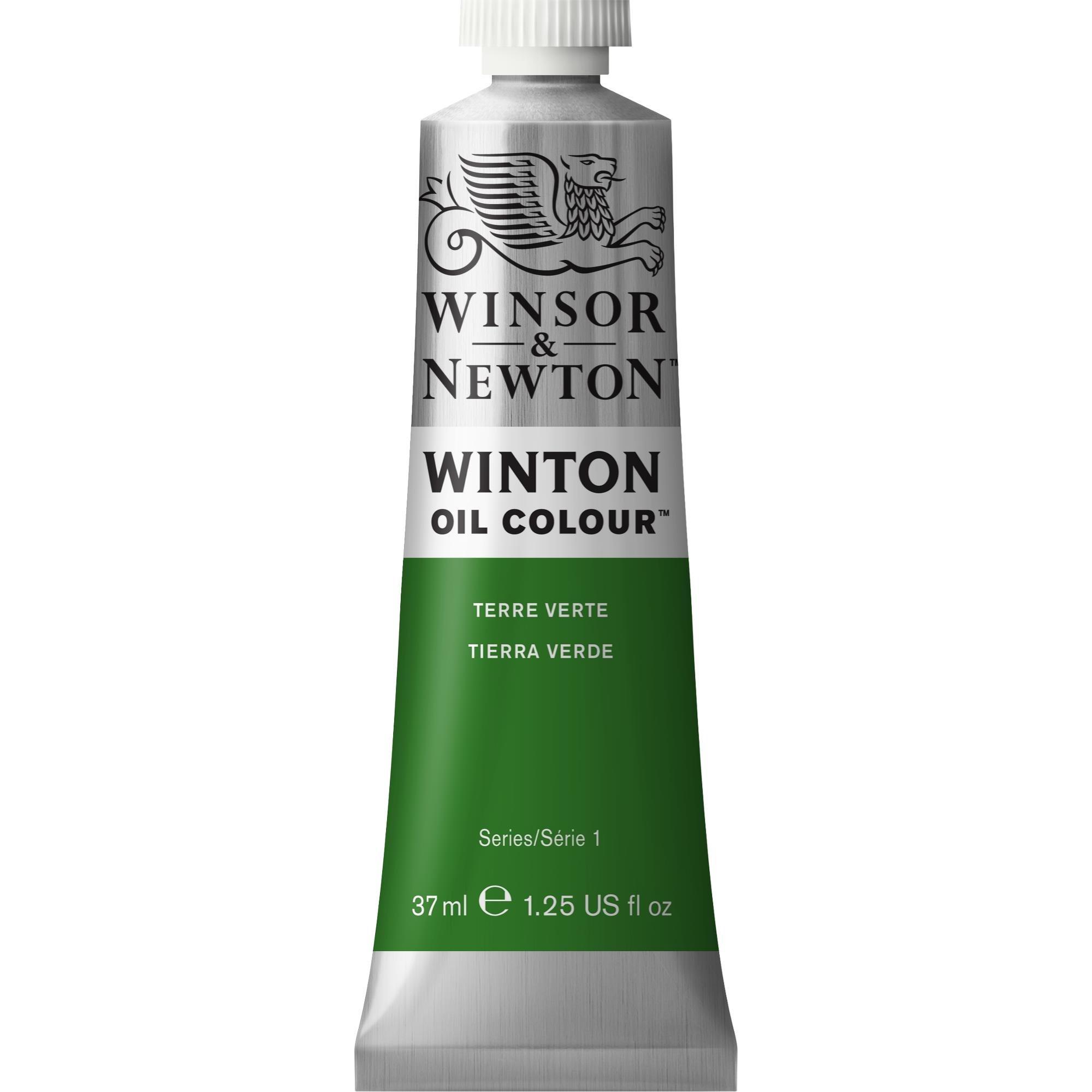 Winsor & Newton Winton Oil Colour Paint, 37ml tube, Terre Verte