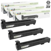 LD Remanufactured Toner Cartridge Replacement for HP 827A CF300A (Black, 3-Pack)