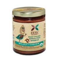 HNINA Gourmet Organic Sprouted Nuts & Raw Cacao Spread – Walnut + Cashew