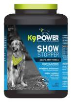 K9 Power - Show Stopper - Healthy Coat and Skin Supplement for Dogs - Reduces Excessive Itching and Shedding, Skin Hot Spots & Seasonal Allergies (4 lb)