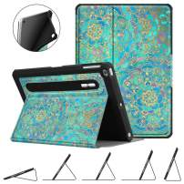 Fintie Case for iPad 9.7 2018 2017 / iPad Air 2 / iPad Air - [Corner Protection] Multi-Angle Viewing Rugged Soft TPU Back Cover with [Secure Pencil Holder] Auto Sleep/Wake, Shades of Blue
