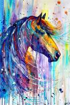 Horse Diamond Painting Kits for Adults by LUHSICE, 45x65cm