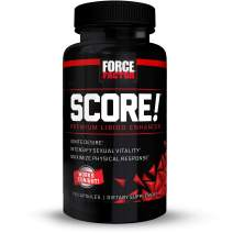 Force Factor Score! Nitric Oxide Libido Enhancer with L-Citrulline - Ignite Desire & Maximize Response, 76 Count