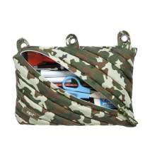ZIPIT Fresh 3-Ring Pencil Case, Camo Green