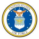 Magnet America Air Force Seal Car Door Sign