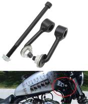 """LisylineAuto Billet 2"""" Motorcycle Gas Tank Riser Lift Kit For Harley Sportster Irons XL 883 1200 48 72 1995-2019"""