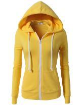 H2H Women's Casual Regular Fit Hoodie Long Sleeve Comfortable Lightweight