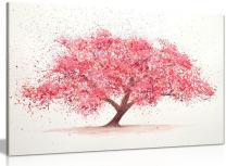 Cherry Tree Blossom Canvas Wall Art Picture Print (30x20in)