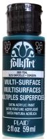 FolkArt Multi-Surface Paint in Assorted Colors (2 oz), 2920, Teal