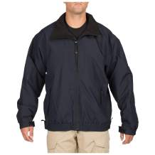 5.11 Tactical Big Horn Mid-Weight Jacket, Wind- and Water-Resistant, Microfiber Shell, Style 48026