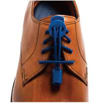 LOCK LACES Premium Elastic No Tie Shoelaces For Dress Shoes